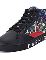 cheap -Men's Shoes PU Spring Fall Comfort Sneakers for Casual Blue Black
