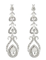 cheap -Women's Drop Earrings Imitation Diamond Alloy Moon Jewelry Wedding Party