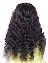 cheap -3 Pieces Natural Black Loose Wave Unprocessed Virgin Mongolian Human Hair Weaves Hair Extensions