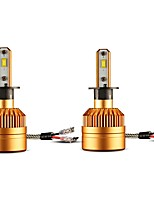 cheap -1 Set 36W 3800LM Golden LED Headlight Kit PHILIP H1 ZES 1515 LED Headlamp kit H1