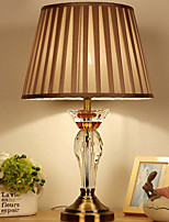cheap -Crystal Crystal Table Lamp For Crystal 220-240V Light Brown