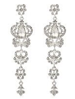 cheap -Women's Drop Earrings Classic Imitation Diamond Alloy Jewelry Wedding Party