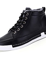 cheap -Men's Shoes PU Winter Fall Comfort Sneakers for Casual Yellow Gray Black