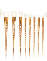 cheap -10 pcs Makeup Brush Set Blush Brush Eyeshadow Brush Lip Brush Powder Brush Foundation Brush Synthetic Hair Full Coverage Plastic Face