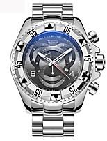 Hombre Niños Reloj Militar Reloj de Pulsera Reloj creativo único Japonés Cuarzo Calendario Cronógrafo Reloj Casual Punk Esfera Grande