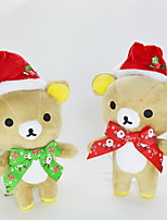 cheap -Teddy Bear Bear Animal Stuffed Toys Stuffed Animals Plush Toy Cute Kids Holiday Animals Casual/Daily Kids