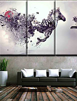 Canvas Set Classic,Three Panels Canvas Vertical Panoramic Print Wall Decor Home Decoration