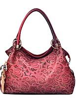 cheap -Women Bags PU Shoulder Bag Pockets for Casual All Season Gray Blushing Pink Red Blue