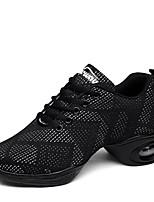 """economico -Da donna Sneakers da danza moderna A maglia Sneaker All'aperto Basso Bianco Nero Bianco-nero 2 """"- 2 3/4"""" Personalizzabile"""