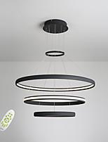 Electrodeless Dimming Led Pendant Lights Modern Simplicity Three Rings Living Room Bedroom Restaurant Chandelier