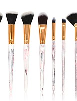 cheap -7 pcs Makeup Brush Set Blush Brush Eyeshadow Brush Lip Brush Powder Brush Foundation Brush Nylon Synthetic Hair Others Full Coverage Resin