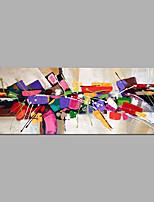 billige -Hånd-malede Abstrakt Horisontal,Moderne Kanvas Hang-Painted Oliemaleri Hjem Dekoration Et Panel