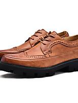 economico -Da uomo Scarpe Finta pelle Primavera Autunno Comoda Sneakers per Casual Nero Grigio Giallo Blu