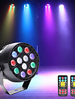 cheap -U'King LED Stage Light / Spot Light LED Par Lights DMX 512 Master-Slave Sound-Activated Auto 15 for Party Stage Wedding Club Professional