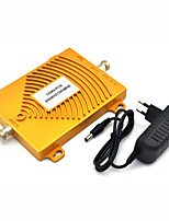 cheap -mini CDMA 850mhz PCS 1900mhz Dual Band Mobile Phone Signal Booster CDMA PCS Signal Repeater with Power Supply / Golden