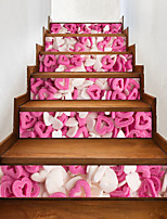Недорогие -Романтика Продукты питания Наклейки 3D наклейки Декоративные наклейки на стены, Винил Украшение дома Наклейка на стену Стена