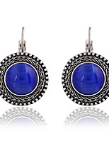 cheap -Women's Stud Earrings Vintage Opal Alloy Circle Jewelry Gift Daily