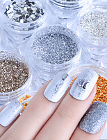 cheap -Glitters Fashion Sequins Sequins Nail Glitter Glitter Powder As Picture Nail Art Tool Nail Art Design 0.010kg/box Nail Art Decoration