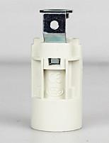 baratos -1pç E14 Conector de Lâmpada base de lâmpada Metalic Plástico Acessório de lâmpada 70