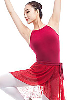 cheap -Ballet Leotards Women's Performance Elastane Gore Sleeveless Natural Leotard