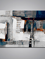 cheap -Hand-Painted Abstract Horizontal, Modern Canvas Oil Painting Home Decoration One Panel