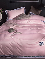 cheap -Luxury Poly/Cotton Printed Poly/Cotton 1pc Duvet Cover 2pcs Shams 1pc Flat Sheet