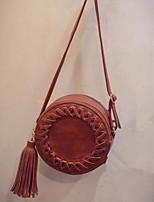 cheap -Women Bags PU Crossbody Bag Zipper for Casual All Season Black Gray Brown Wine