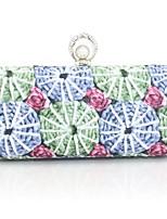 preiswerte -Damen Taschen PU Abendtasche Muster / Druck für Veranstaltung / Fest Alle Jahreszeiten Blau Purpur
