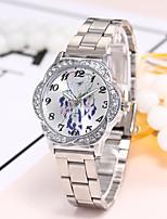 preiswerte -Damen Armbanduhren für den Alltag Modeuhr Armbanduhr Chinesisch Quartz Armbanduhren für den Alltag Legierung Band Luxus Freizeit Elegant