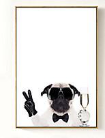 economico -Animali Illustrazioni Decorazioni da parete,Polistirolo Materiale con cornice For Decorazioni per la casa Cornice Camera da letto Camera