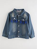 cheap -Girls' Solid Suit & Blazer,Cotton Blue