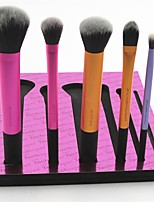 cheap -6 pcs Makeup Brush Set Nylon Synthetic Hair Others Professional Soft Full Coverage Anodized Aluminum Metal Eye Face