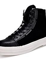 economico -Da uomo Scarpe PU (Poliuretano) Primavera Autunno Comoda Sneakers per Casual Bianco Bianco/nero