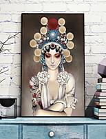 economico -Romanticismo Natura morta Illustrazioni Decorazioni da parete,Plastica Materiale con cornice For Decorazioni per la casa Cornice Salotto