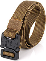 cheap -Men's Alloy Waist Belt,Army Green Black Brown Work Casual Solid Pure Color