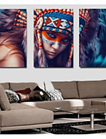 cheap -Canvas Set Classic,Three Panels Canvas Vertical Panoramic Print Wall Decor Home Decoration