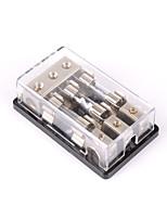 Недорогие -3-полосный / 3-х дюймовый блок питания плавких предохранителей в режиме ожидания, стерео / аудио / автомобиль 60a