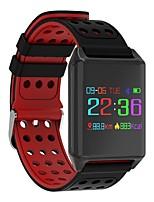 abordables -Pulsera Smart Bluetooth Integrado Modo de Hibernación Podómetros Sensor tactil Control APP Pulse Tracker Podómetro Seguimiento de