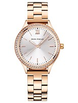 cheap -Women's Fashion Watch Japanese Quartz Casual Watch Stainless Steel Band Casual Black Silver Gold Rose Gold