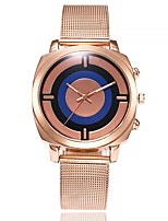 Women's Fashion Watch Wrist watch Chinese Quartz Large Dial Alloy Band Casual Minimalist Rose Gold