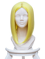 preiswerte -Cosplay Perücken Land der Glänzenden Gelber Diamant Anime Cosplay Perücken 35 CM Hitzebeständige Faser Frau