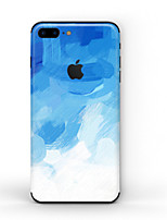 cheap -1 pc Skin Sticker for Scratch Proof Matte Pattern PVC iPhone 7 Plus