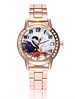 cheap -Women's Casual Watch Fashion Watch Wrist watch Chinese Quartz Casual Watch Alloy Band Luxury Casual Elegant Silver Gold Rose Gold