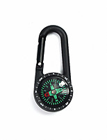 cheap -Compasses With Keychain Wearproof Directional Gold-Plated Camping / Hiking / Caving Camping & Hiking Trekking Metalic ABS cm pcs