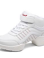 """economico -Da donna Sneakers da danza moderna Finta pelle Sneaker All'aperto A fantasia Piatto Bianco Sotto 1 """" Personalizzabile"""