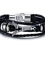 cheap -Men's Chain Bracelet , Alloy Geometric Jewelry Gift Daily