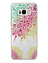 cheap -Case For Samsung Galaxy S8 Plus S8 IMD Pattern Back Cover Mandala Glitter Shine Soft TPU for S8 Plus S8 S7 edge S7