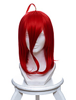cheap -Cosplay Wigs Land of the Lustrous Cinnabar Anime Cosplay Wigs 40 CM Heat Resistant Fiber Unisex