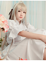 cheap -Inspired by Yosuga no Sora Kasugano Sora Anime Cosplay Costumes Cosplay Suits Others Dress Shawl For Female