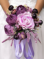 Wedding Flowers Bouquets Wedding Party Evening Other Material Polyester 11.02